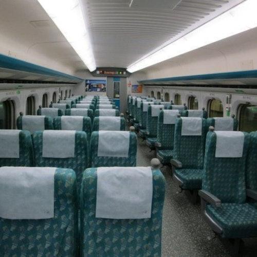 Tren de alta velocidad de Taiwán: Pase ilimitado de 3 días