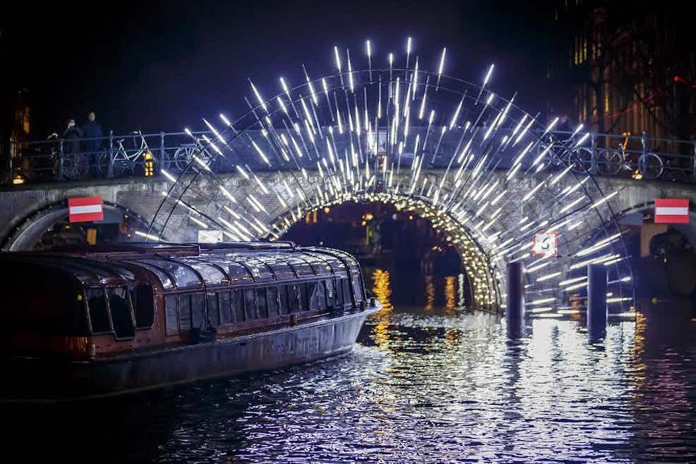 Amsterdam Light Festival - Central Station   Tiqets