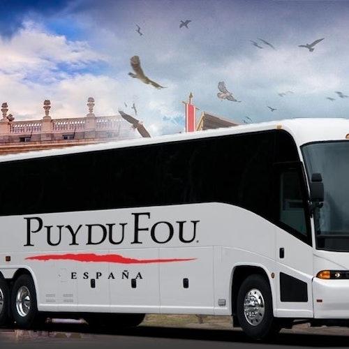 Puy du Fou España: Traslado desde Madrid