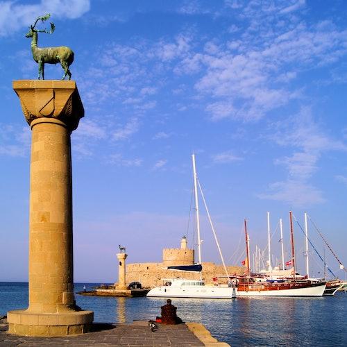 Viaje de ida y vuelta en catamarán de Marmaris a Rodas