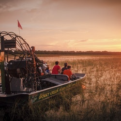1-Hour Boggy Creek Sunset Airboat Tour