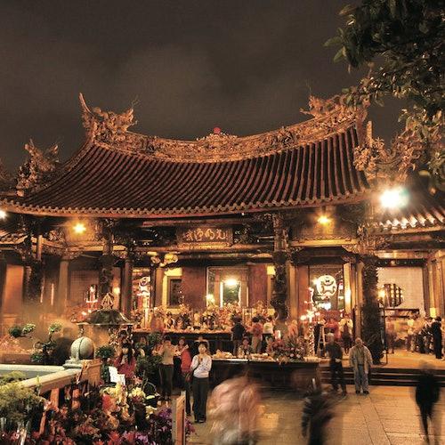 Tour nocturno con cena por Taipéi