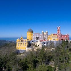 Imagen Parque y Palacio da Pena en Sintra