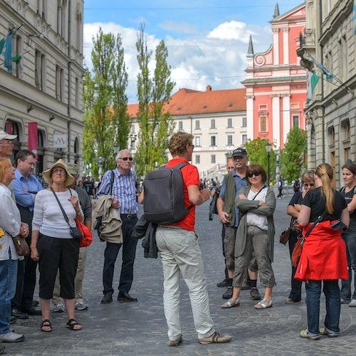 Monumentos de Liubliana + Crucero