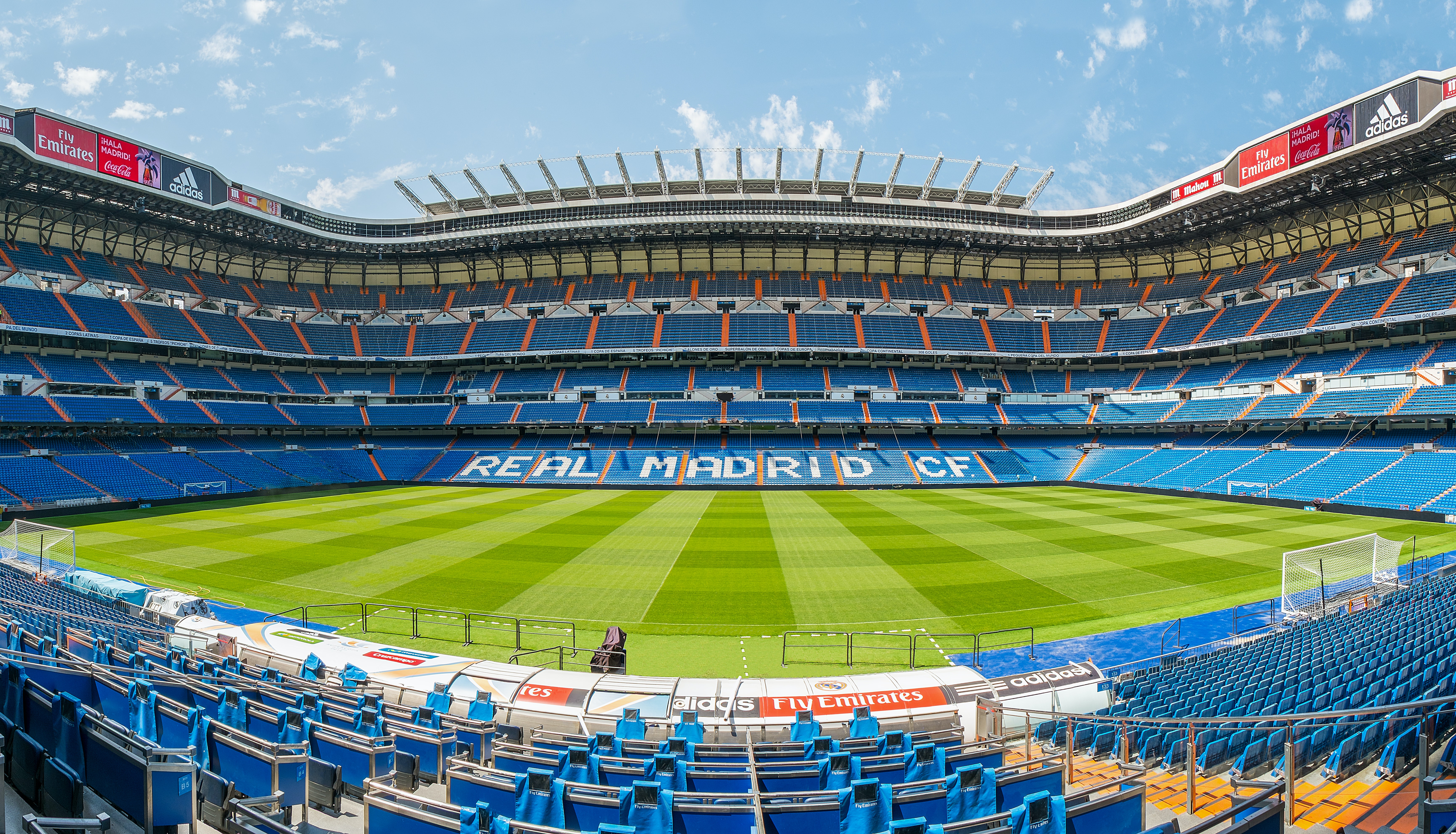 Santiago bernabeu stadion madrid tiqets for Puerta 38 santiago bernabeu