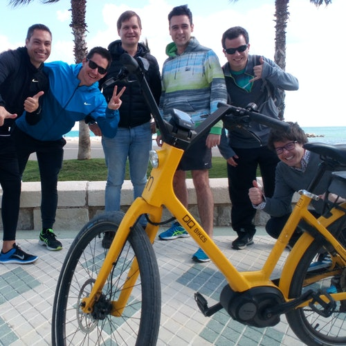 Tour en bici por Marbella
