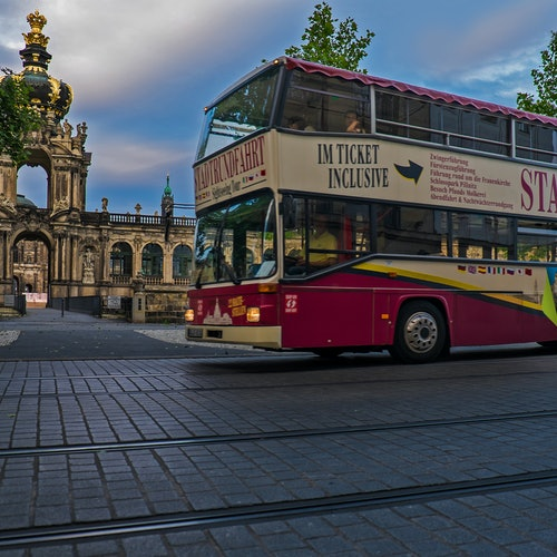 Bus turístico Dresde