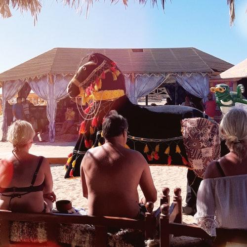 Esnórquel en la isla Giftun y comida en Paradise Beach desde Hurghada