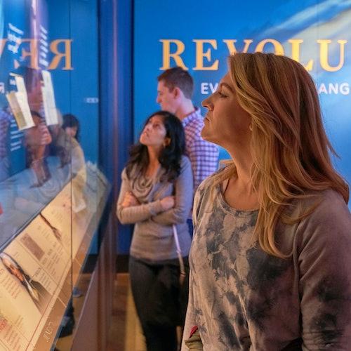 Museo de la Revolución Americana: Sin colas