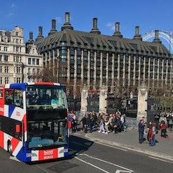 Imagen Bus hop-on hop-off + Croisière sur la Tamise 24/48H