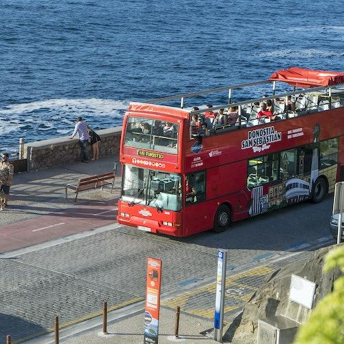 Bus turístico de San Sebastián