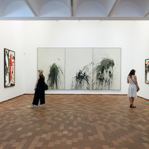 Fundació Joan Miró: Sin colas