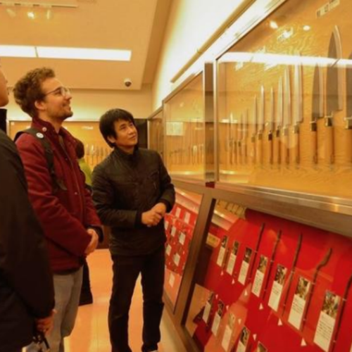 Curso de afilado de cuchillos en Osaka