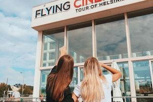 Flying Cinema Tour de Helsínquia