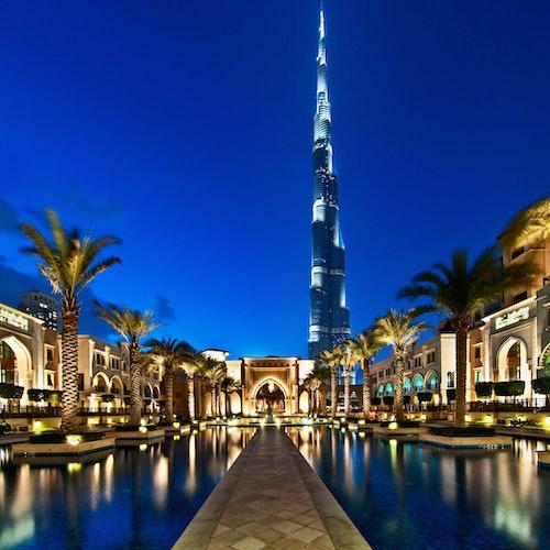 Burj Khalifa: Pisos 124 y 125