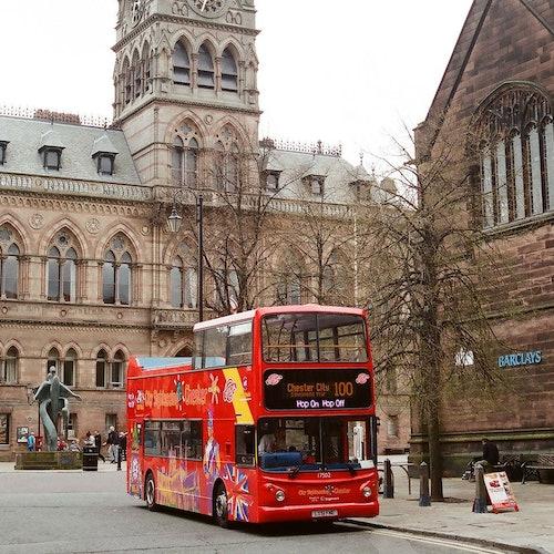 Bus turístico Hop-on Hop-off de Chester