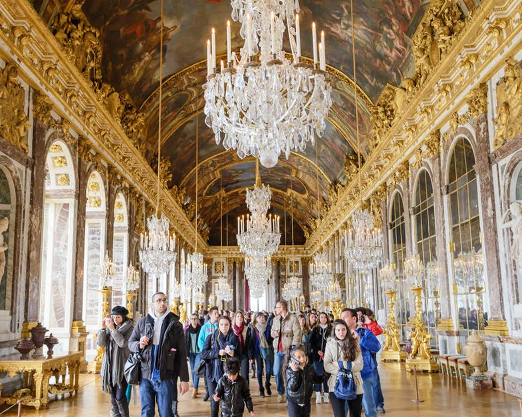 Paleis Van Versailles.Tickets Voor Paleis Van Versailles Toegang Tot Het Paleis Audiogids