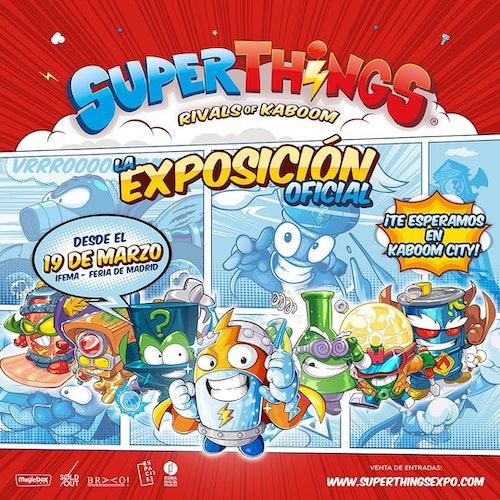 SuperThings: la exposición oficial