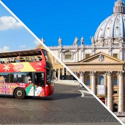 Imagen Museos Vaticanos y Capilla Sixtina: Sin colas + bus turístico 48 horas