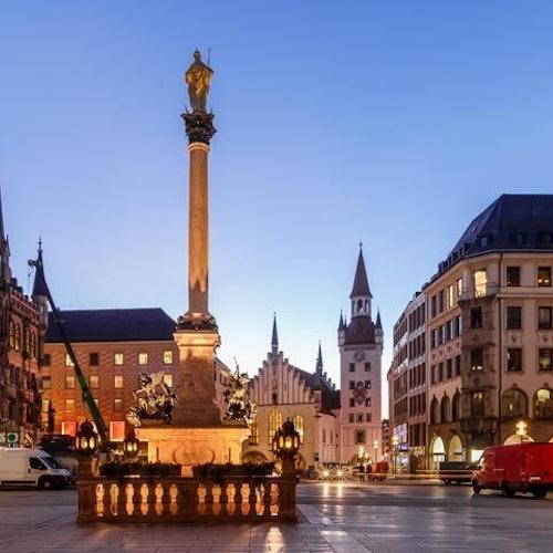 Recorrido a pie por Múnich