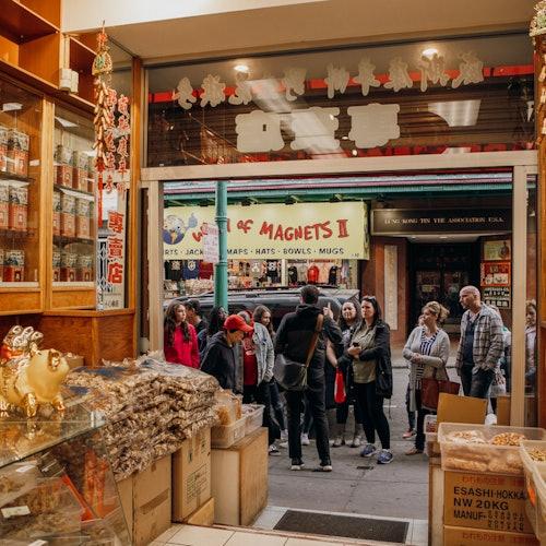 Tour de Alcatraz y el barrio chino con fábrica de galletas de la suerte