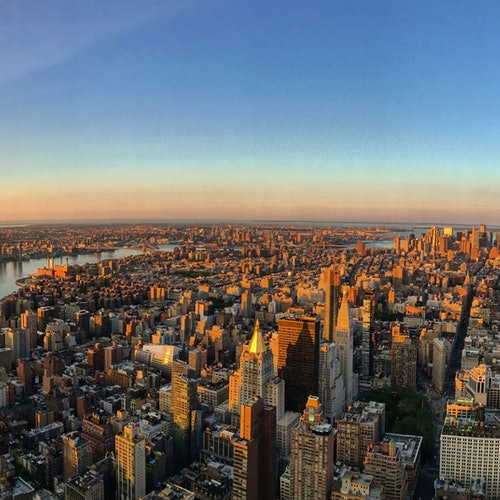 Empire State Building: Amanecer