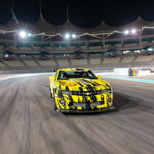 Experiencia de pasajero Chevrolet Drift Taxi en Yas Marina