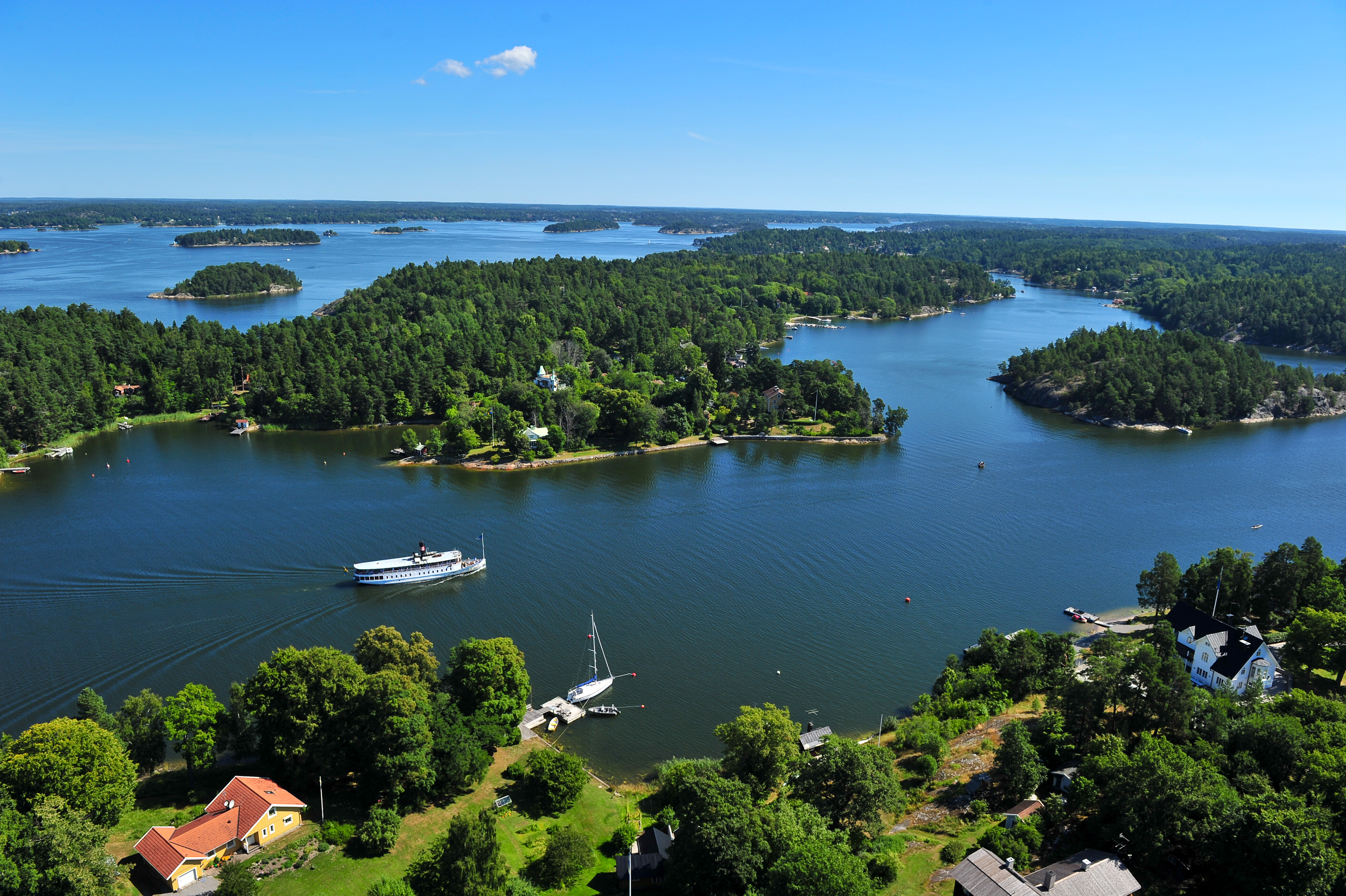 Tickets for Stockholm Archipelago Boat Tour with Guide
