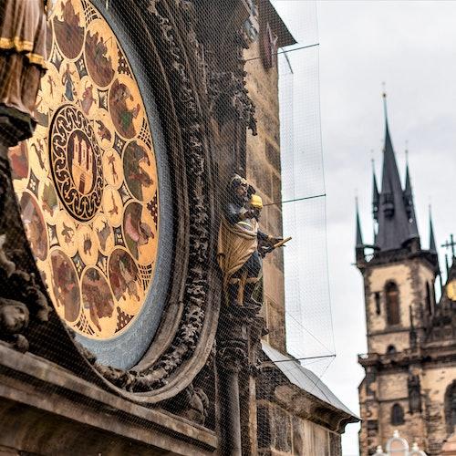 Reloj Astronómico de Praga: Sin colas