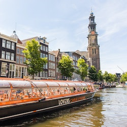 Canal Cruise Amsterdam from Leidse Square
