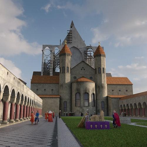 TimeRide Colonia: Tour a pie de realidad virtual