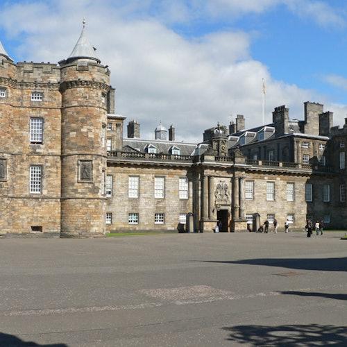 El Palacio de Holyroodhouse