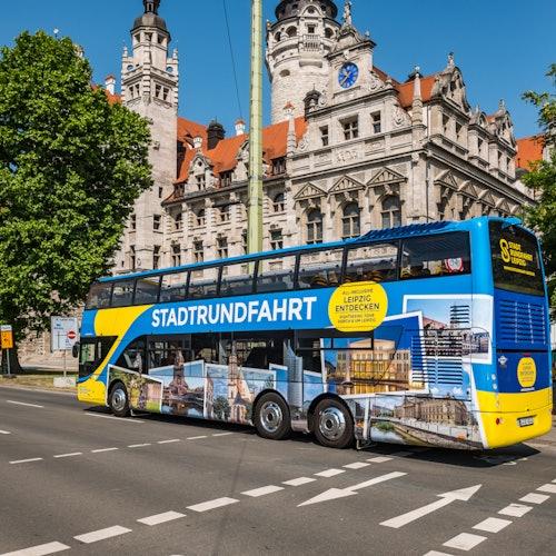 Bus turístico de 1 día por Leipzig