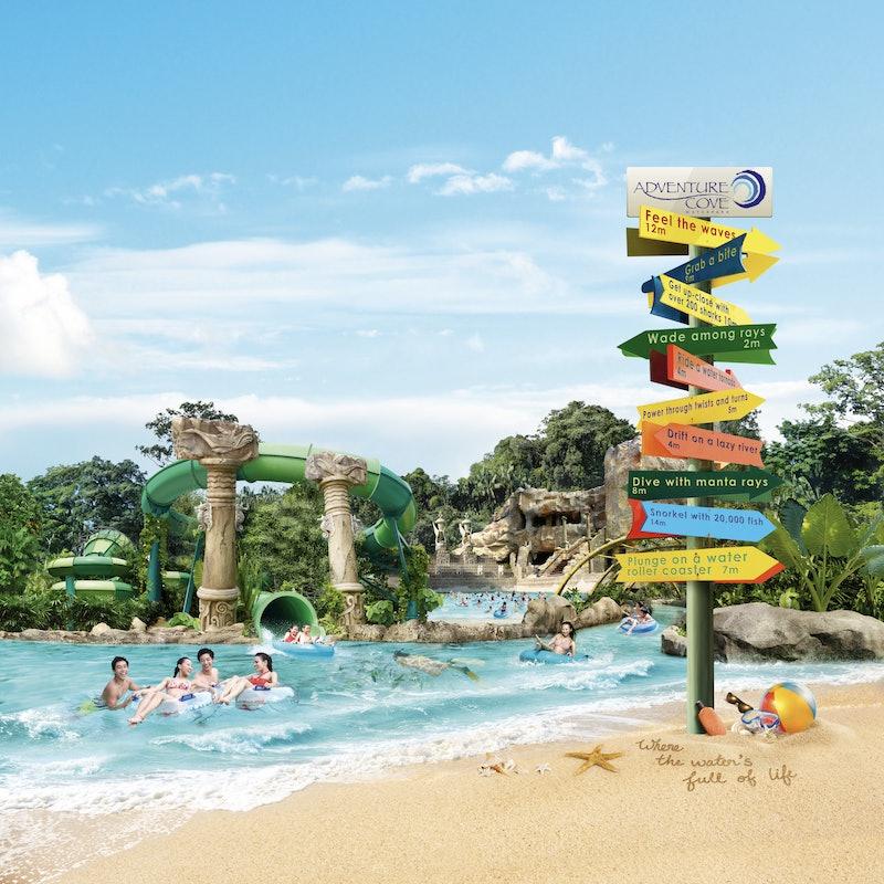 Tickets Adventure Cove Waterpark Singapur Tiqets Com