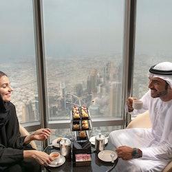 Burj Khalifa: Tea in the Clouds at the Lounge (152nd - 154th Floors)
