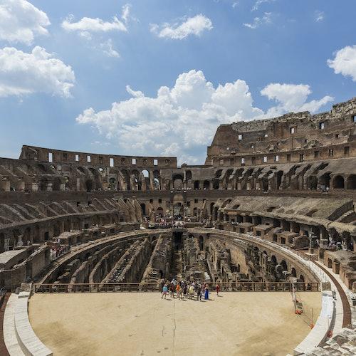 Bild Kolosseum: Ohne Anstehen + Zugang zu Arena & Forum Romanum