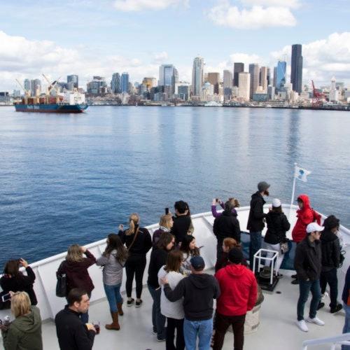 Crucero por el puerto de Seattle