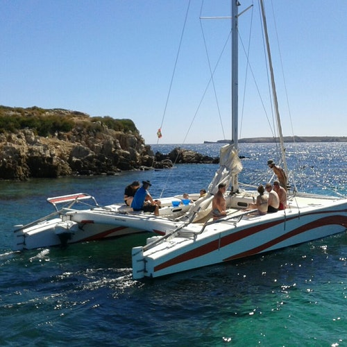Bay of Fornells: Half-Day Catamaran Trip
