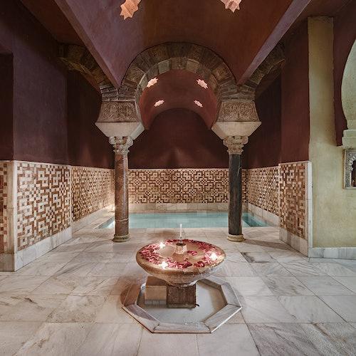 Hammam Al Ándalus Córdoba: Masaje y tratamiento con piedras calientes