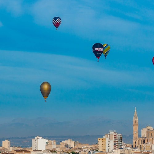 Vuelo en globo por Mallorca
