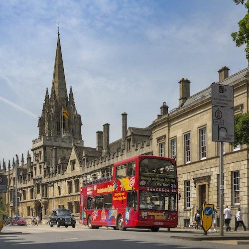 Bus turístico de Oxford durante 24 o 48 horas