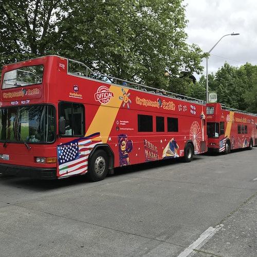 Hop-on Hop-off Bus Seattle