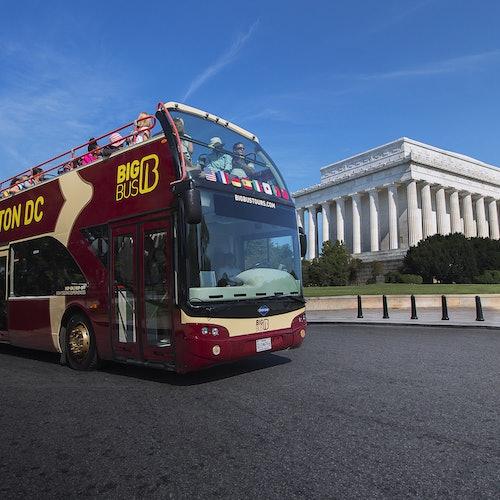 Hop-on Hop-off Bus Washington, D.C.