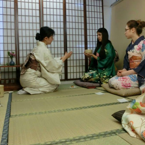 Ceremonia del té en Tokio