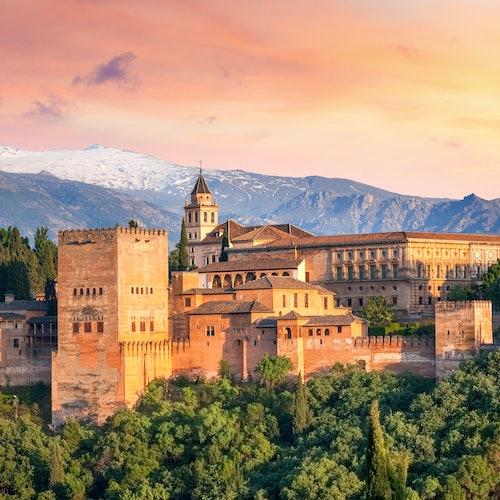 Alhambra + Palacios Nazaríes: Sin colas + Visita guiada