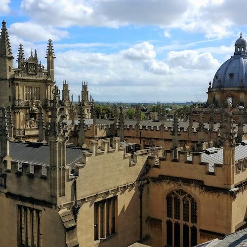 Tour a pie oficial de la universidad de Oxford y la ciudad