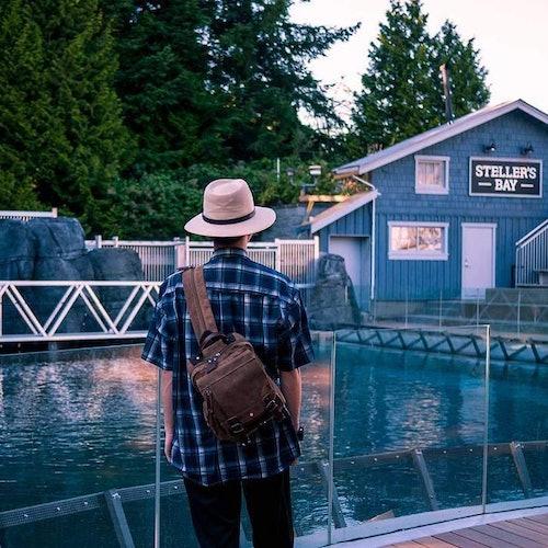 Acuario de Vancouver: Sin colas