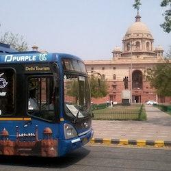 Hop-on Hop-off Bus Delhi