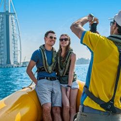 60-minute Marina Cruise: Dubai Marina, Ain Dubai, Bluewater's & JBR
