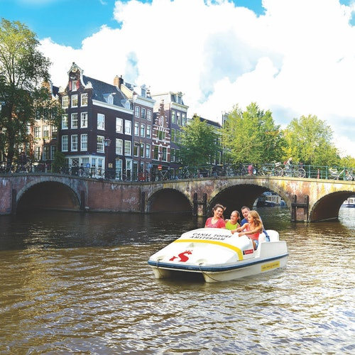 ペダルボートアムステルダムの写真